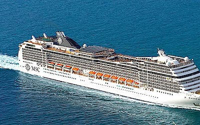 MSC World Cruise 2019 Teilstrecke