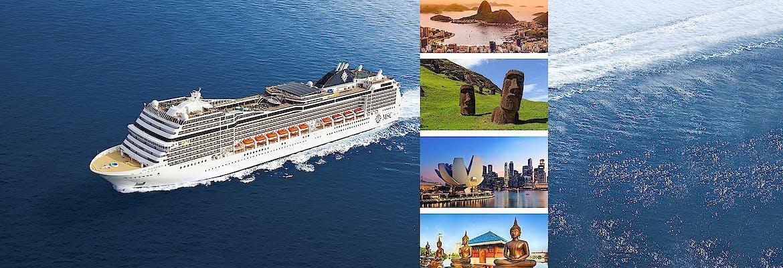 World Cruise mit MSC Kreuzfahrten