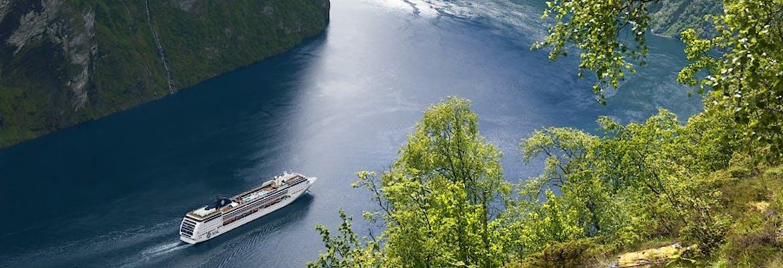 Sommer 2020 - MSC Splendida - Norwegen