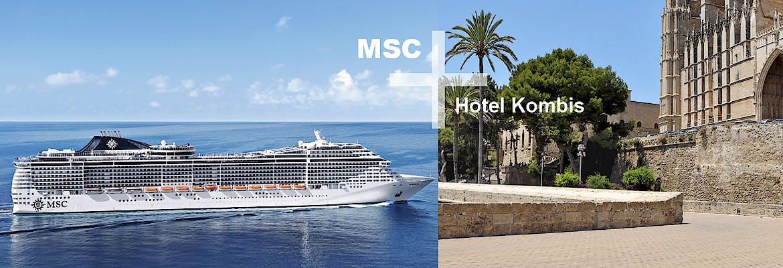 MSC+Hotel Kombis Sommer 2019 inkl. Flug