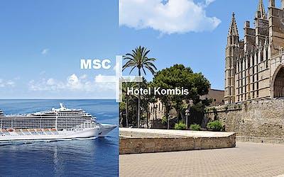 MSC + Hotel Kombis inkl. Flug