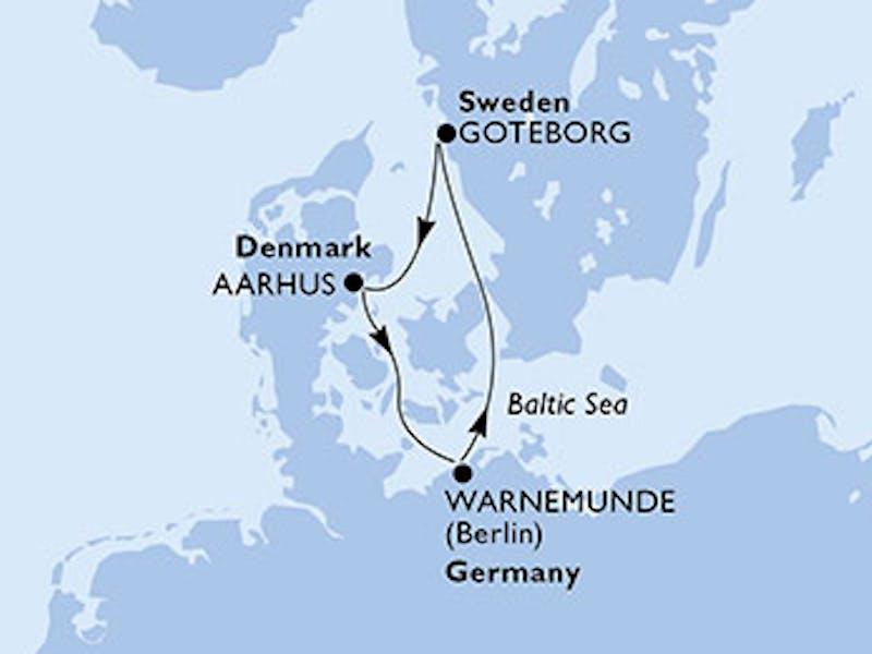 Deutschland, Schweden, Dänemark