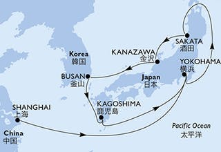 China, Japan, Südkorea