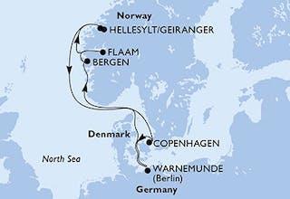 Deutschland, Norwegen, Dänemark