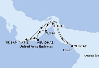 Vereinigte Arabische Emirate, Oman