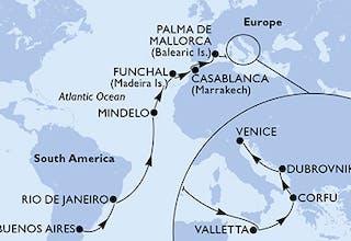 Buenos Aires bis Venedig