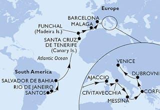 Santos bis Venedig