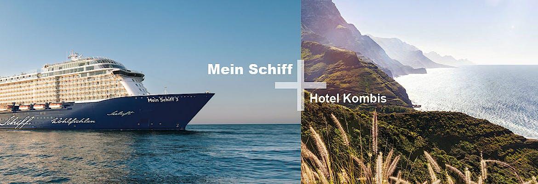 Mein Schiff 3 + Hotel Kombis Kanaren & Marokko