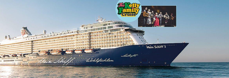 Mein Schiff 3 Eventreise - The Kelly Family Cruise - Ab sofort buchbar