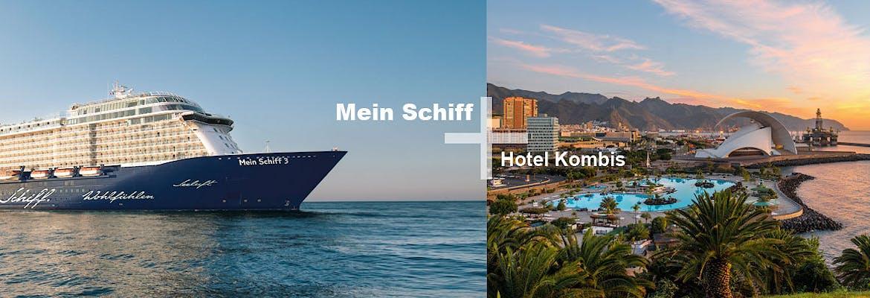 Mein Schiff 3 + Hotel Kombis Kanaren & Madeira
