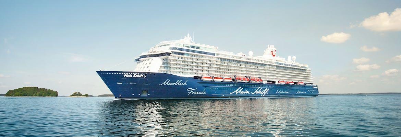 Mein Schiff 6 + Hotel Kombi - Von Singapur nach Hongkong