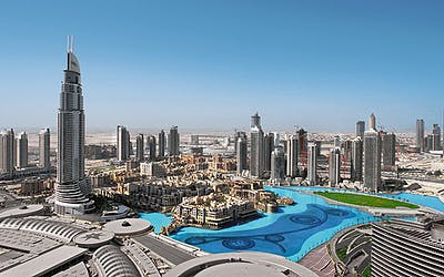Dubai mit Indien