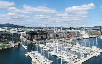 Norwegen mit Oslo