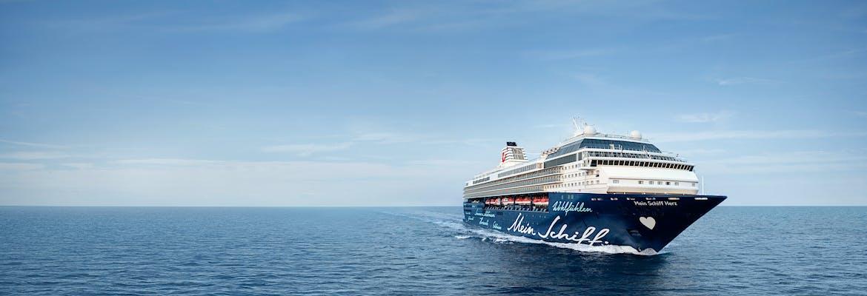 Kreuzfahrten mit der Mein Schiff Herz