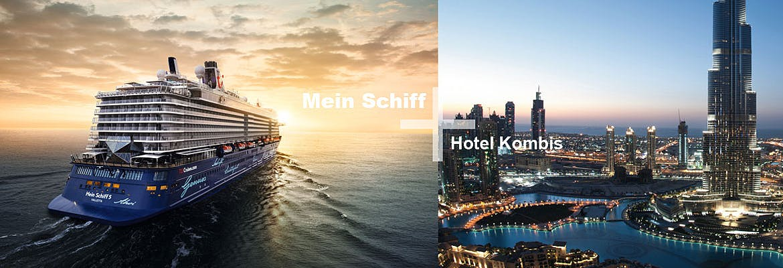 Mein Schiff 5 + Hotel Kombis Südafrika & Persischer Golf