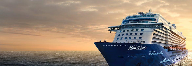 Sommer 2018 - Mein Schiff 5 Mittelmeer mit Salerno