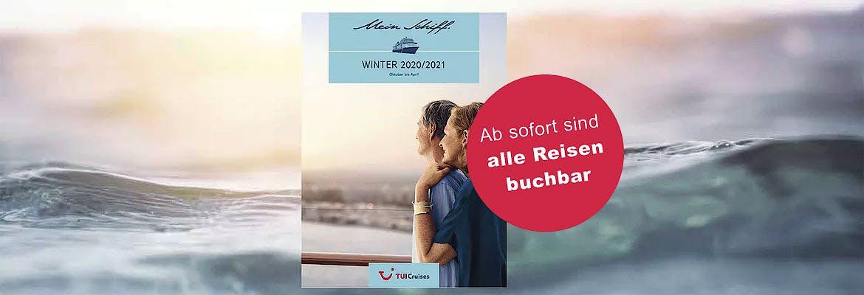 Mein Schiff - Winter-Katalog 2020/2021