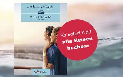 Mein Schiff - Winter-Katalog 2020/21