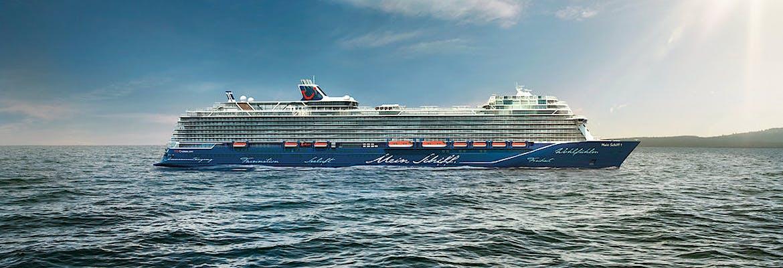 Sommer 2018 Nordland - Neue Mein Schiff 1 Südnorwegen mit Ålesund