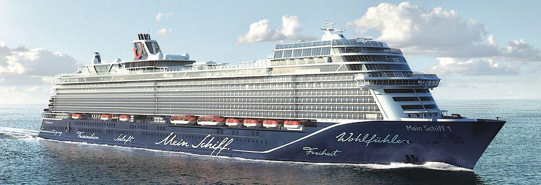 Winter 2022/23 - Mein Schiff 1 - Karibik & Mittelamerika