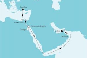 Östliches Mittelmeer trifft Dubai