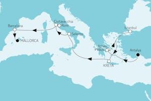 Östliches Mittelmeer trifft Mallorca