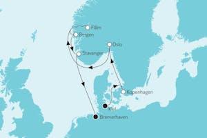 Südnorwegen mit Flåm