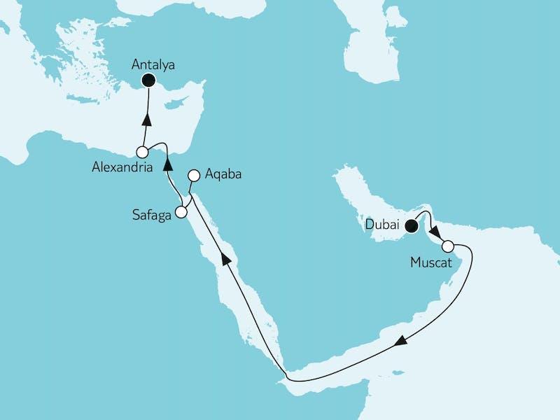 Dubai trifft östliches Mittelmeer I