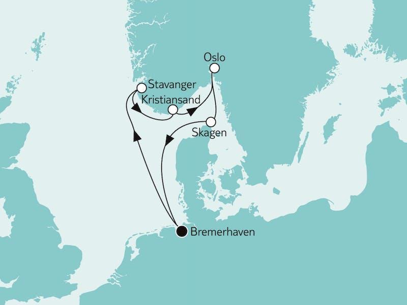 Südnorwegen mit Oslo