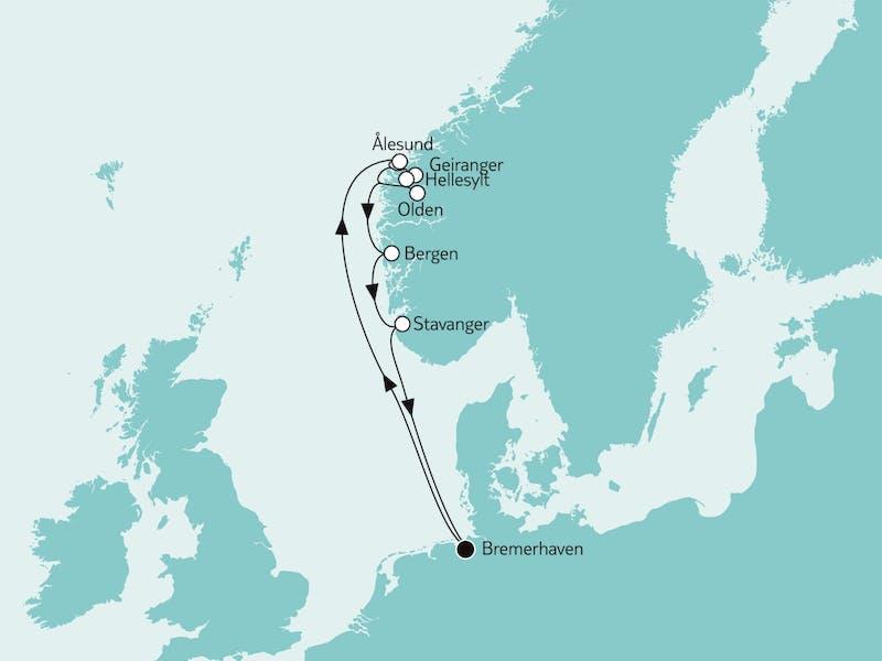 Südnorwegen mit Olden