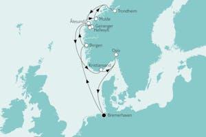 Südnorwegen mit Trondheim