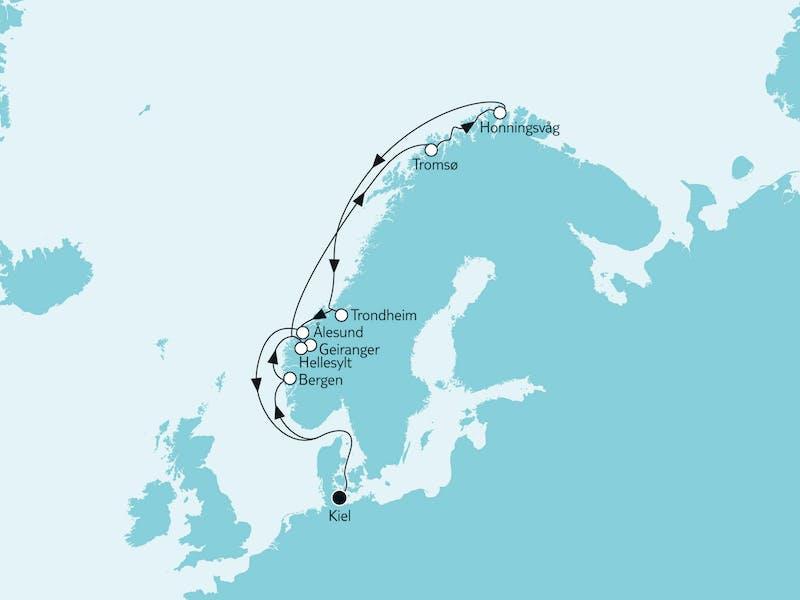 Norwegen mit Nordkap I