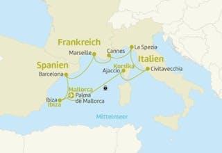 Mittelmeer mit Ibiza Hotel-Kombi