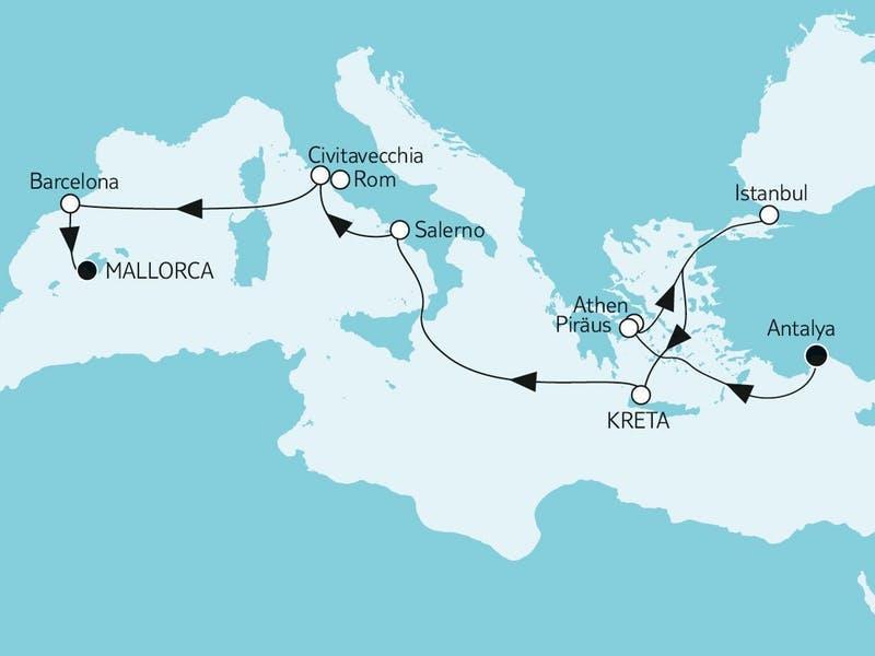 Antalya trifft Mallorca
