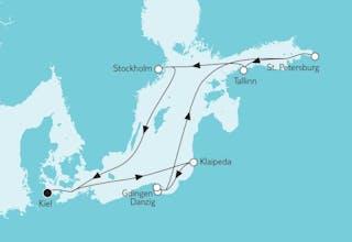 Ostsee Baltikum mit Danzig II