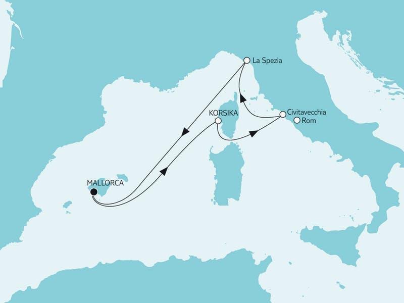 Kurzreise Mittelmeer