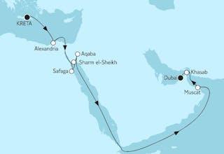 Östliches Mittelmeer bis Dubai II