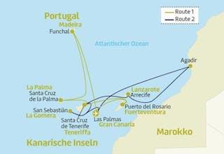 Kanaren mit Madeira