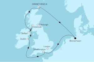 Großbritannien ab Bremerhaven I