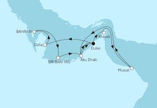 Dubai mit Bahrain & Oman