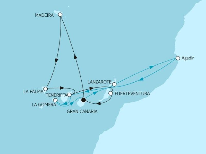 Kanaren mit Madeira & Lanzarote 2