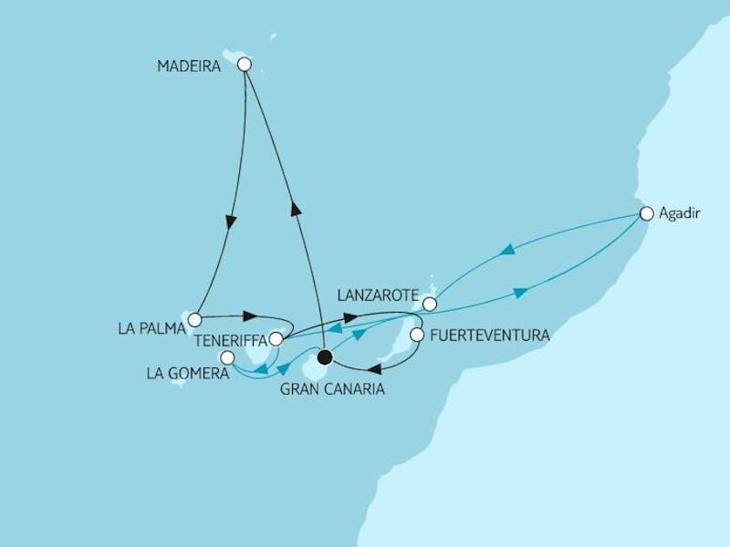 Kanaren mit Madeira & Lanzarote 1
