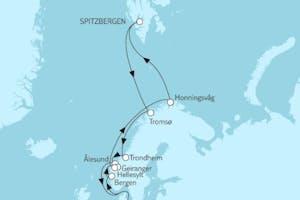 Norwegen mit Spitzbergen I