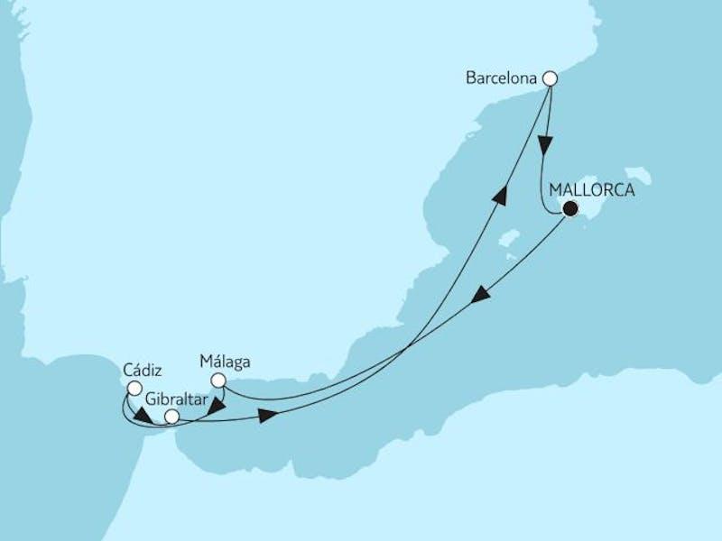 Mittelmeer mit Andalusien V