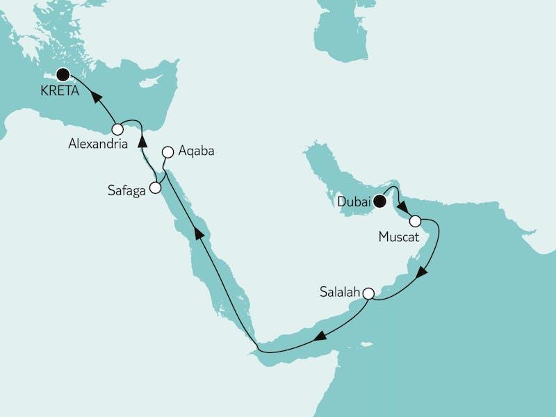 Dubai bis Kreta I