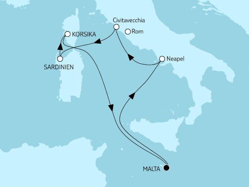 Mittelmeer mit Italien III