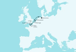 Westeuropa mit Amsterdam II