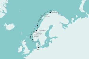 Norwegen mit Nordkap III