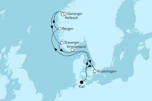 Norwegen mit Geirangerfjord III