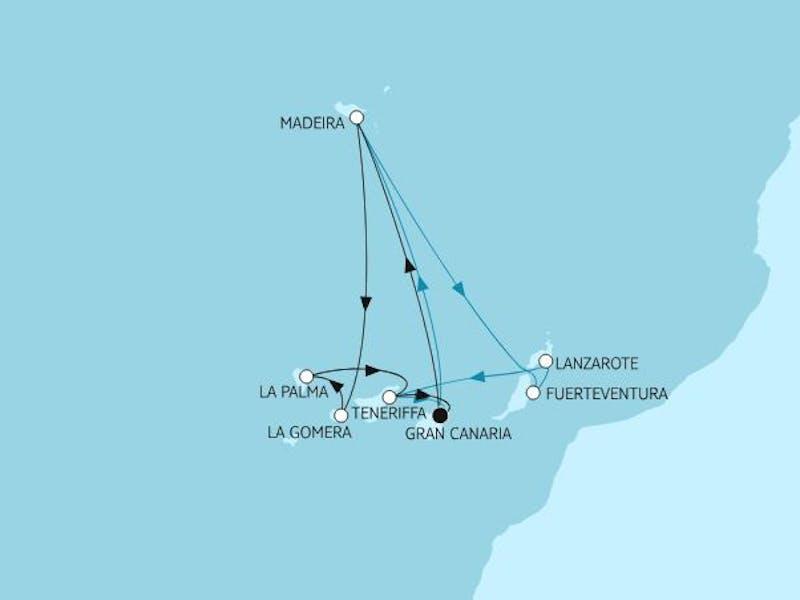 Kanaren mit Madeira IV